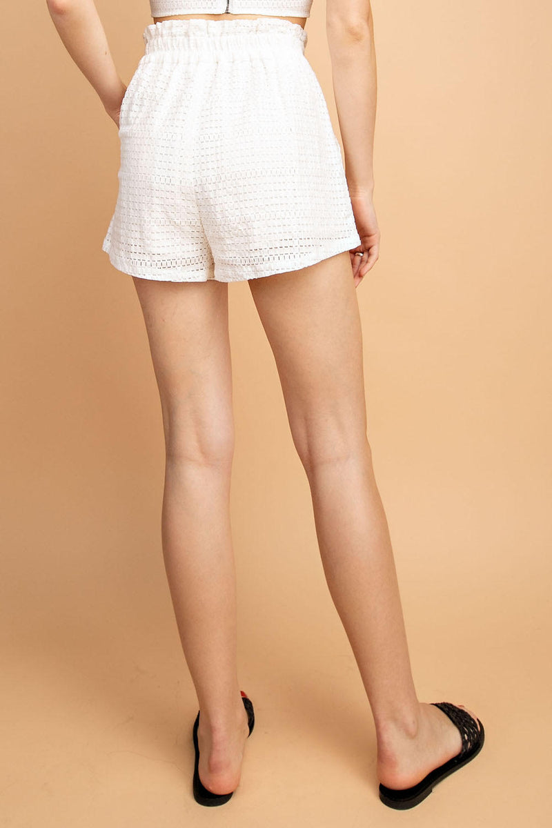 HIGH WAIST KNIT SHORT