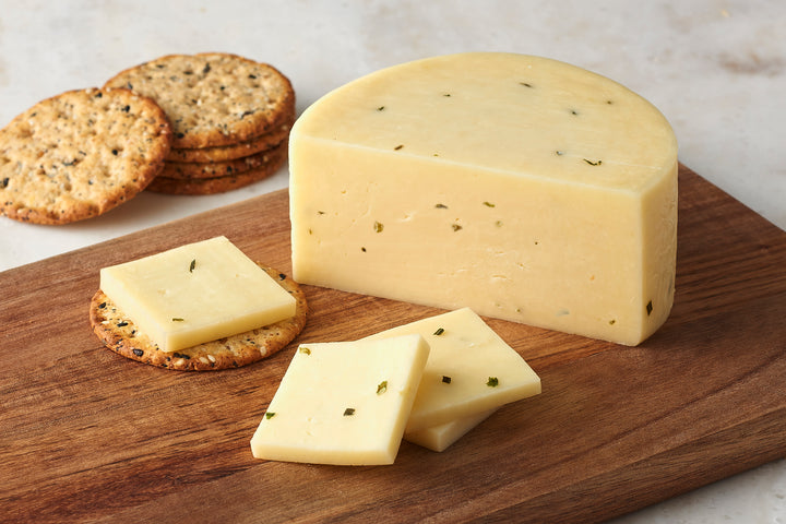 Monterey Jack with Garlic Herb & Dill
