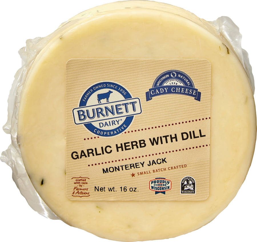 Package_Monterey Jack with Garlic Herb & Dill