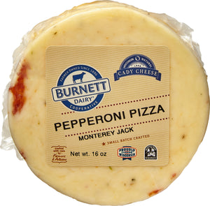 Monterey Jack with Pepperoni Pizza