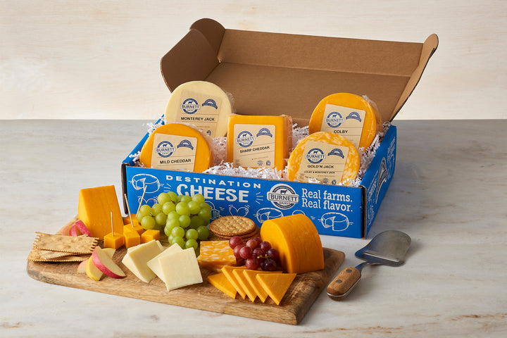 Destination Cheese Gift Box