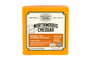 Wood River Creamery Northwoods Cheddar