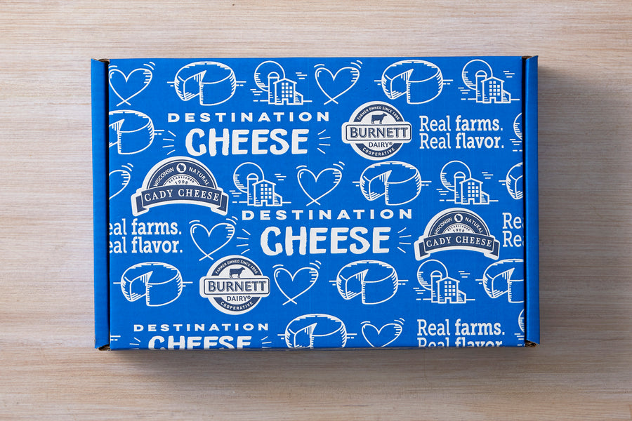 Gift Box 10 — Cheddar Lovers Flight