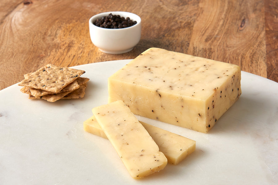 Wood River Creamery Smoked Cracked Peppercorn_Sample