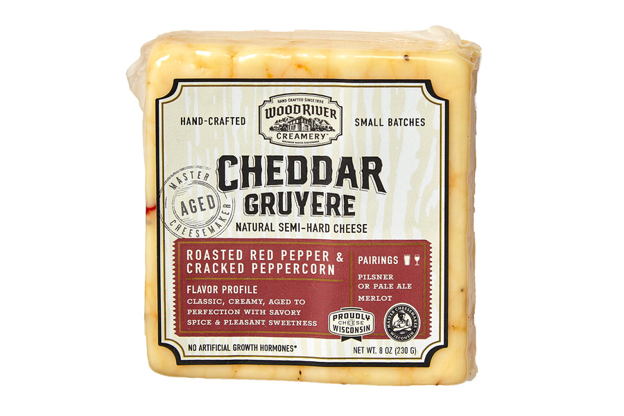 Wood River Creamery Roasted Red Pepper & Black Peppercorn_Package