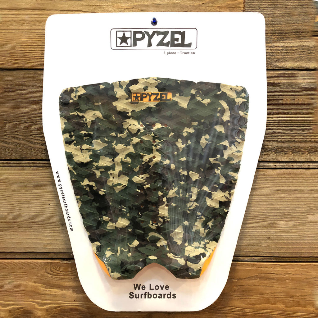 PYZEL 3 PIECE TRACTION PAD CAMO