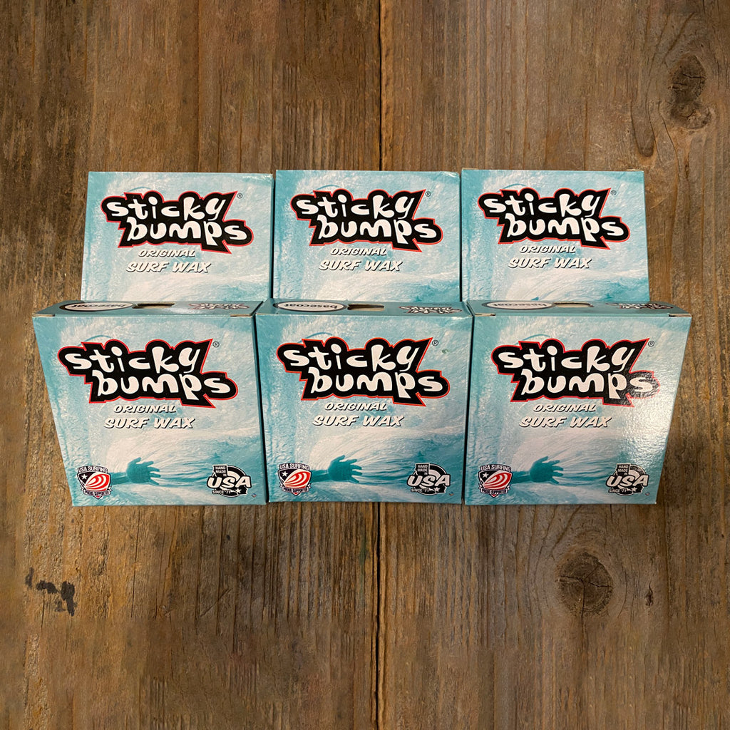 Sticky Bumps Surf Wax Base Coat - 6Pack
