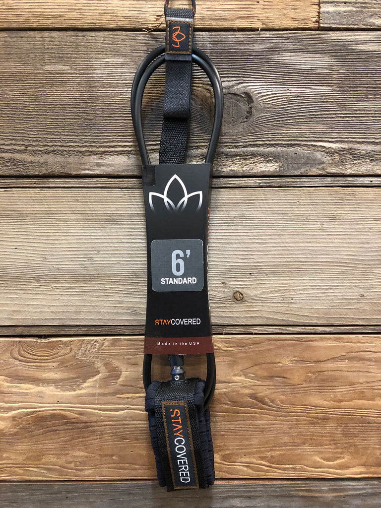 STAY COVERED 6' Standard Surf Leash
