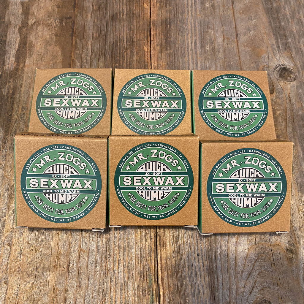 Sex Wax Cool to MidWarm - 6Pack