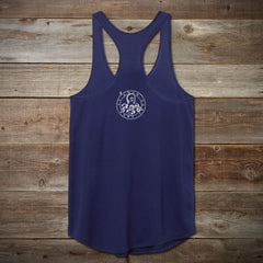 Women's Octopus Tank Navy by Kelly Tunstall