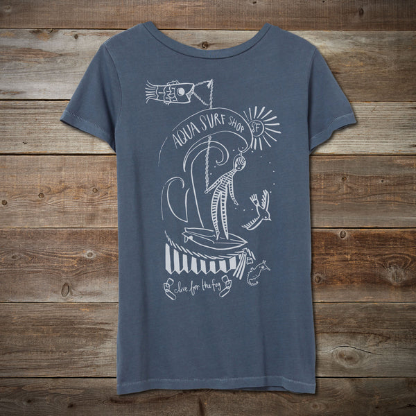 Women's Live for the Fog Tee by Kelly Tunstall