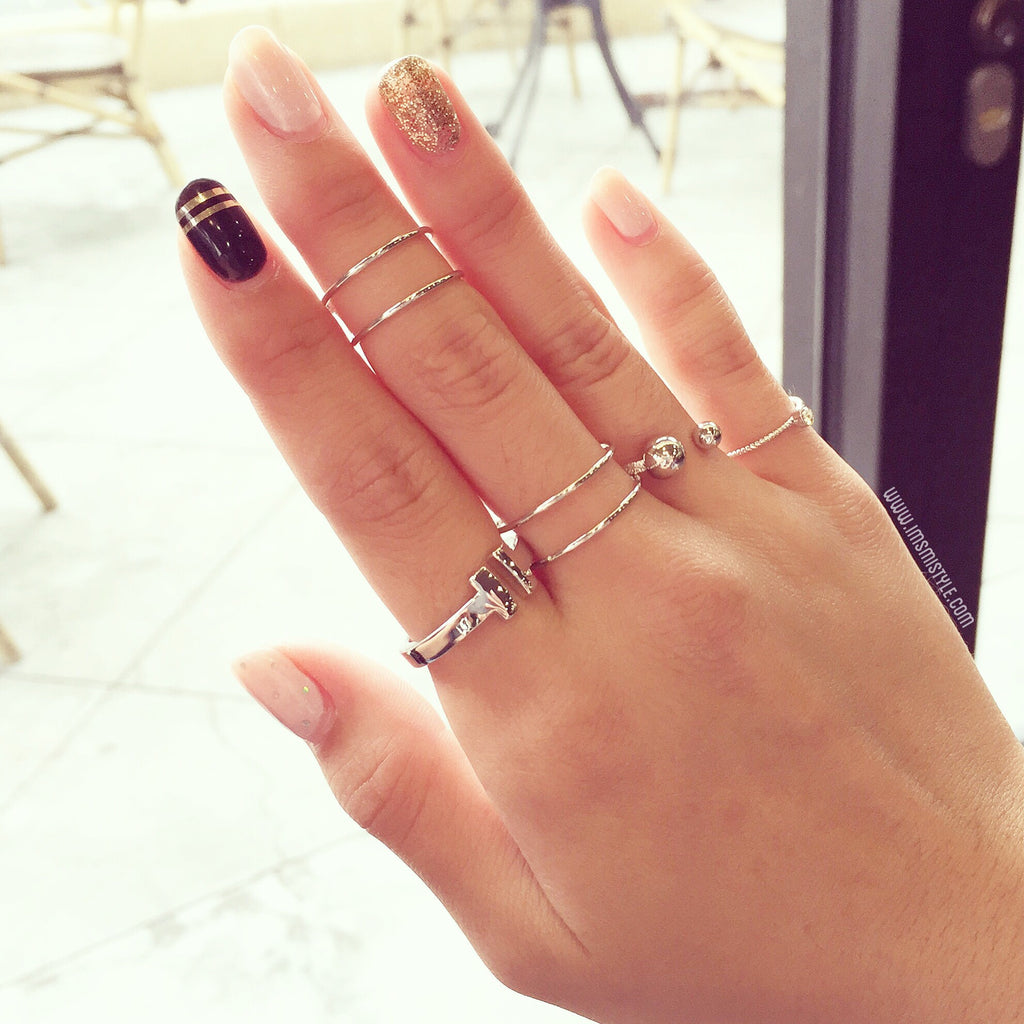Wire rings set