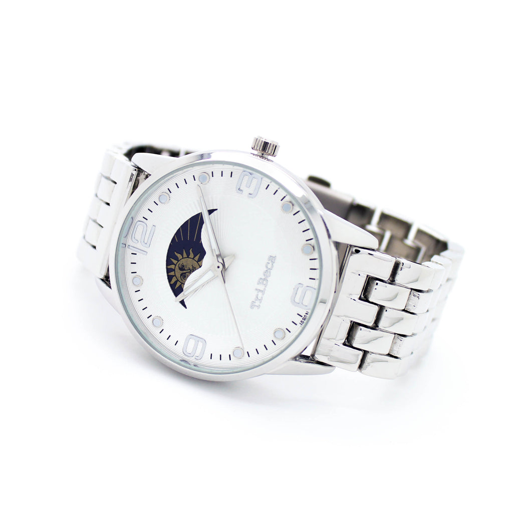 Moon & Stars metal watch (2 colors)