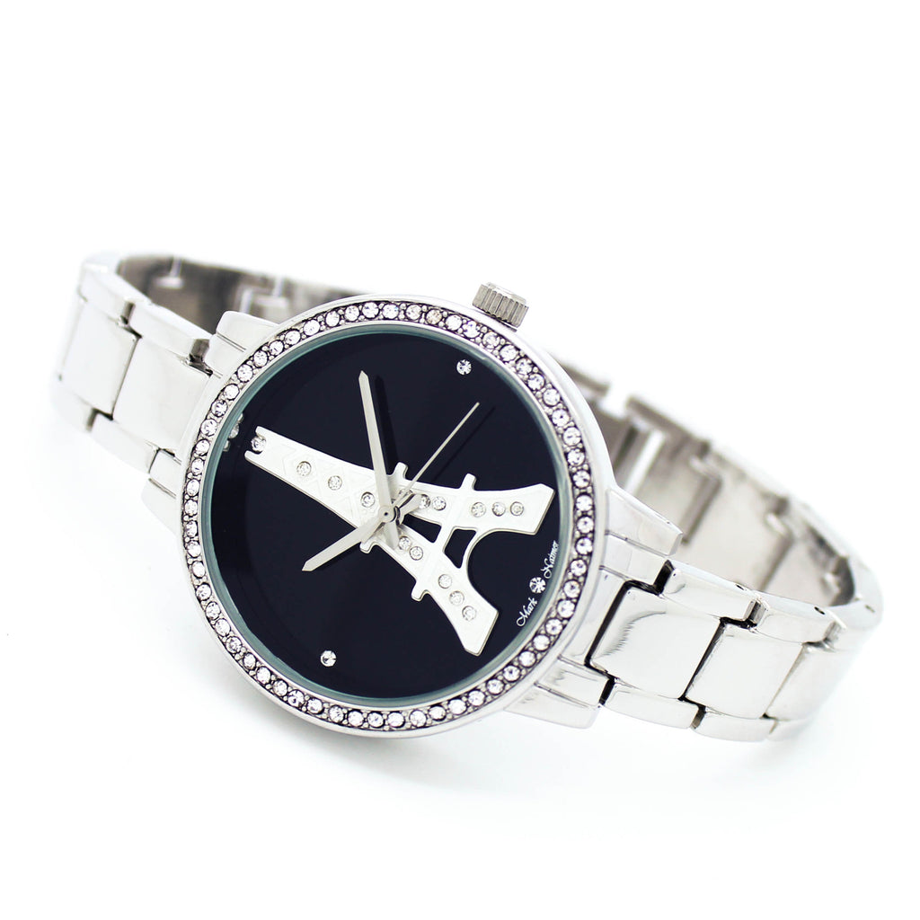 Eiffel Tower metal watch (3 colors)