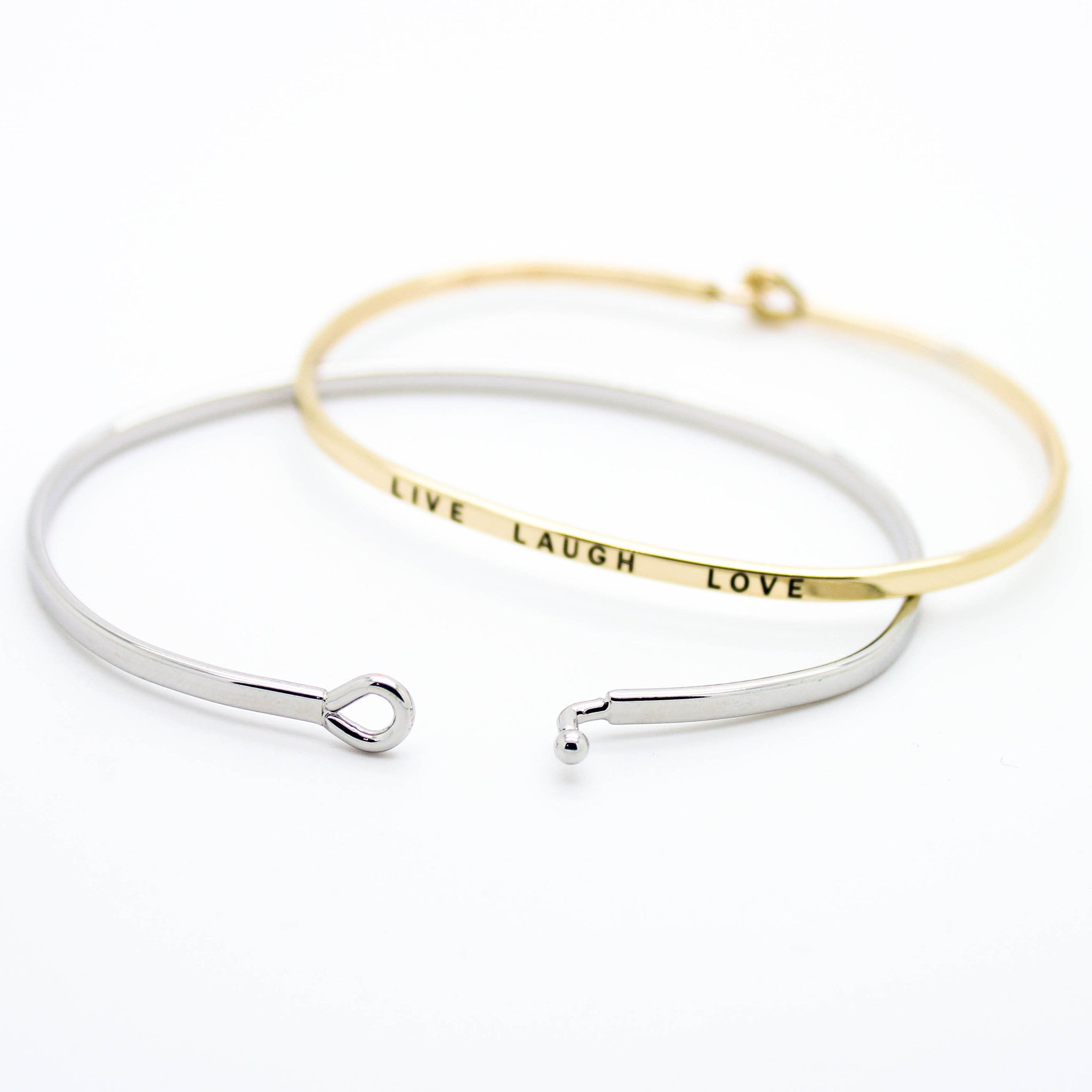 tiffany medium hook sterling bracelet gold love eye products knot bangle silver logo co bangles