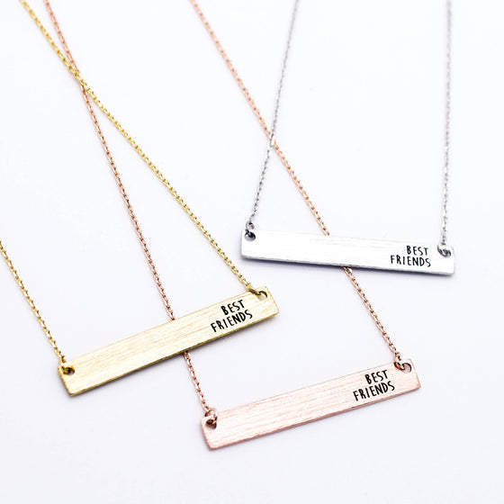 Best Friends necklace (3 colors)