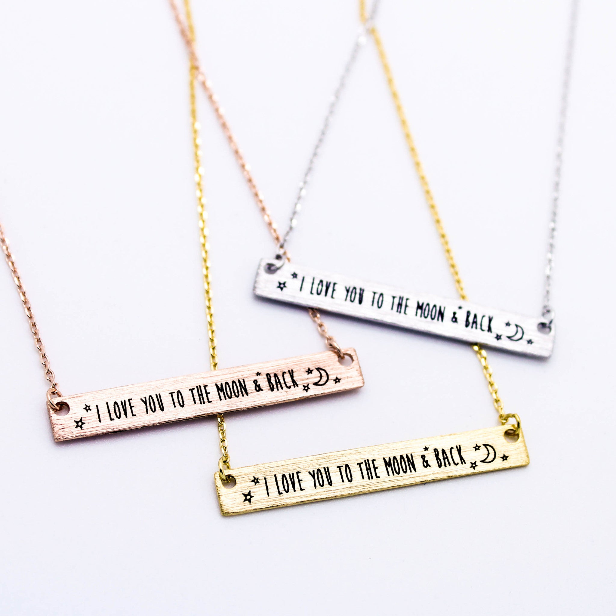 fd6414d838 I love you to the moon & back necklace - Imsmistyle