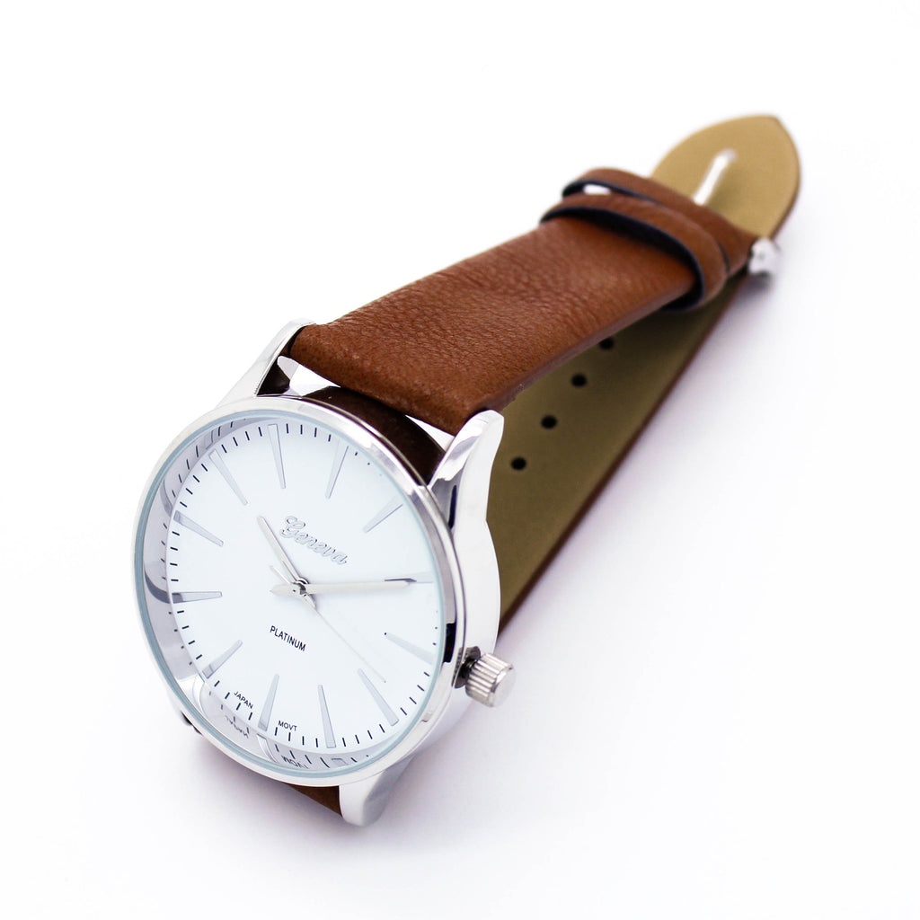 Timeless classic strap watch (2 colors)