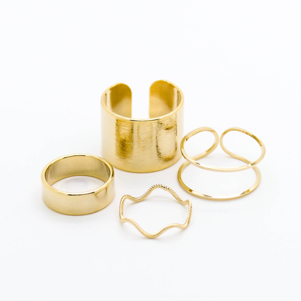 Bold multi rings set