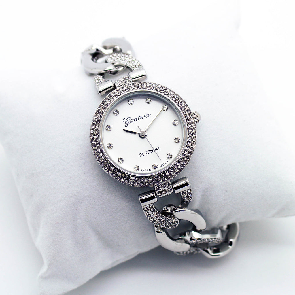 Glam chain metal watch