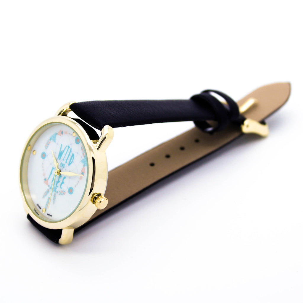Wild & Free strap watch (5 colors)