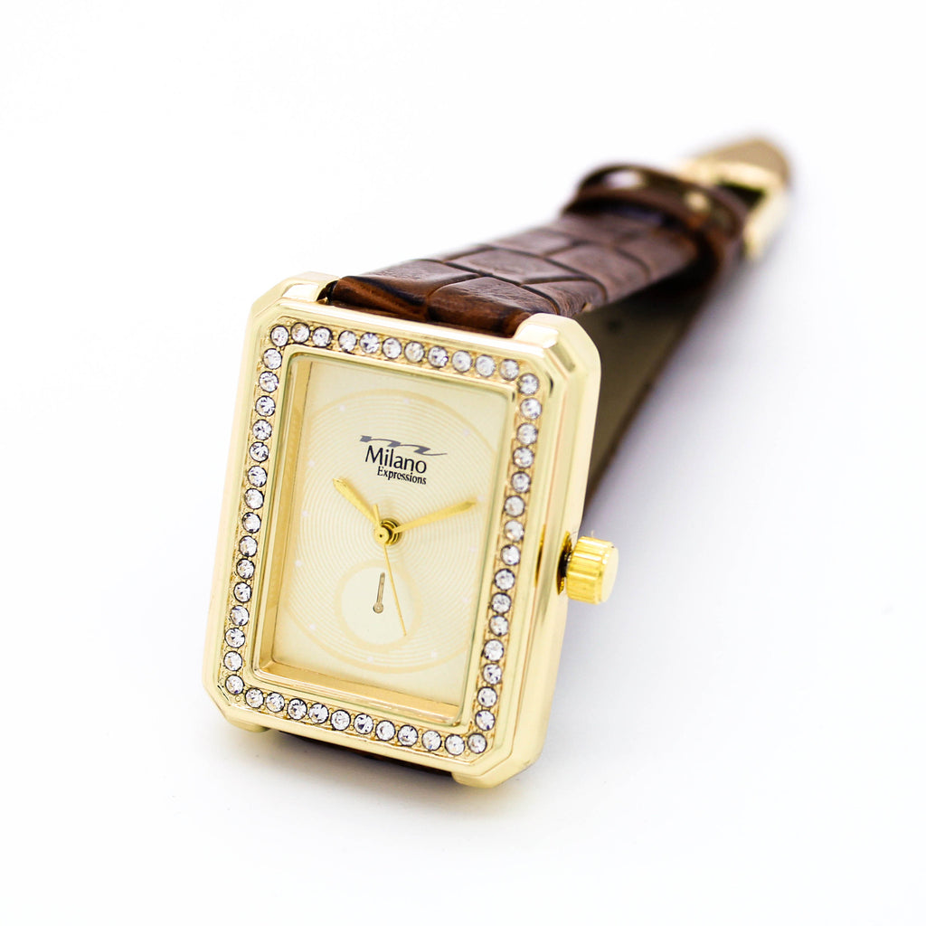 Classic square strap watch (3 colors)