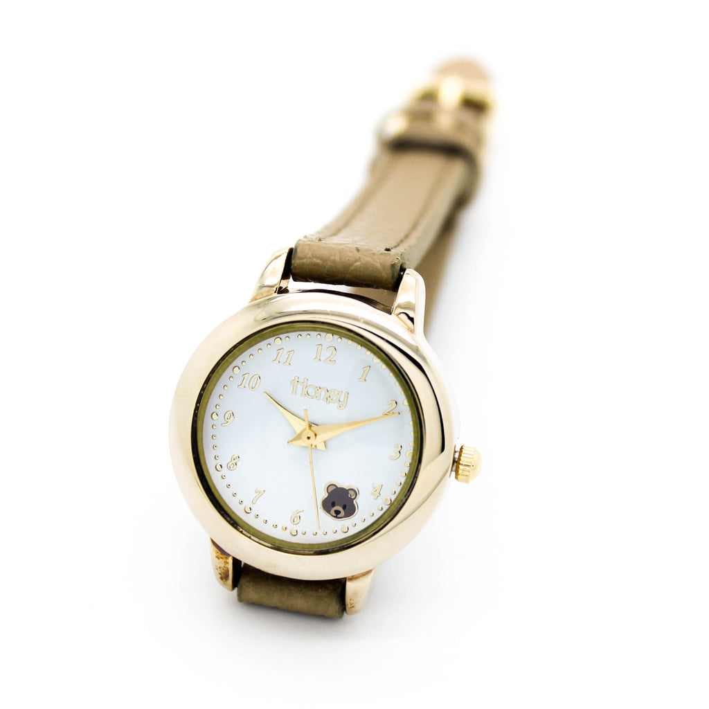 Adorable animal strap watch (3 colors)