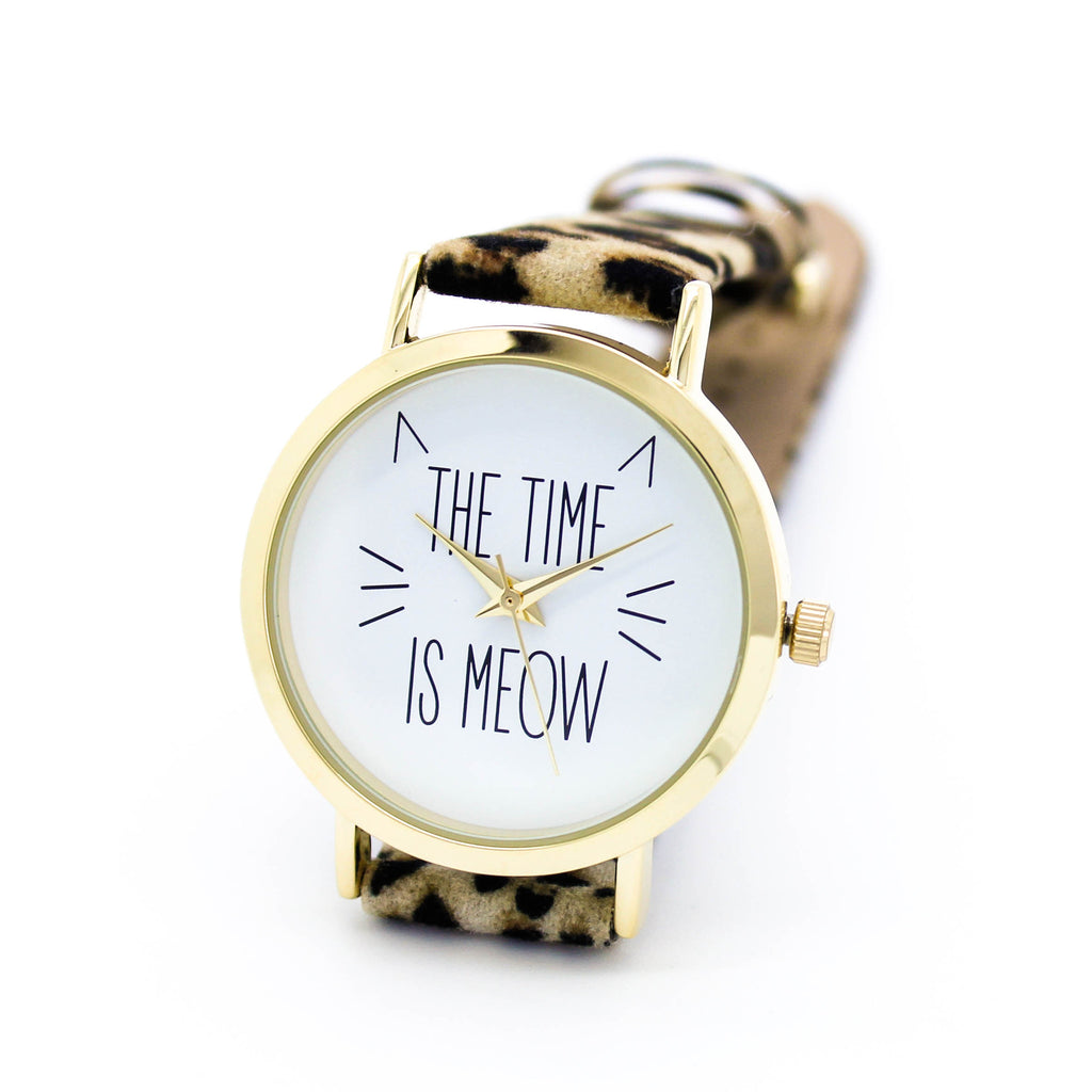 The time is meow watch