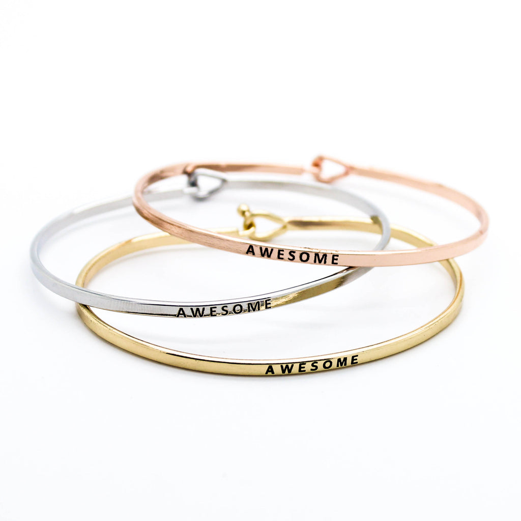 Awesome bangle bracelets