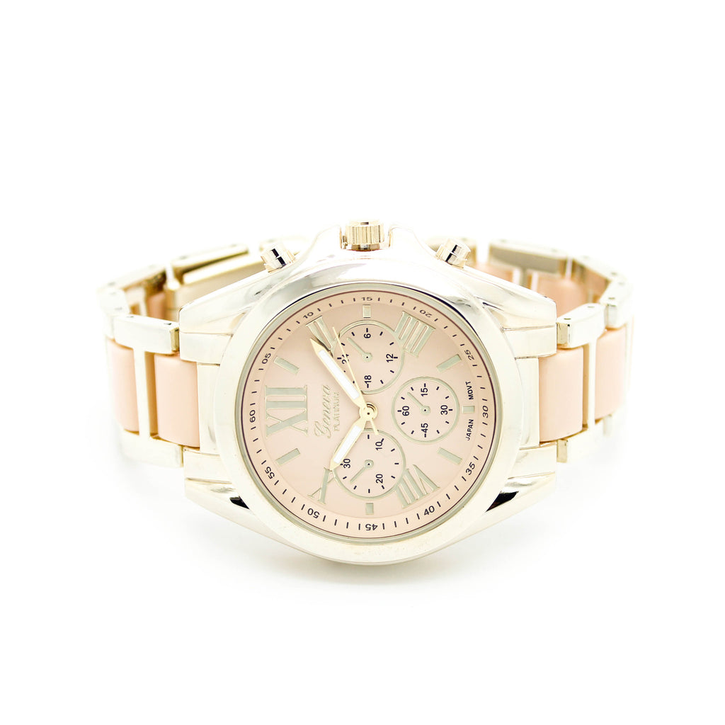Pastel metal watch (5 colors)