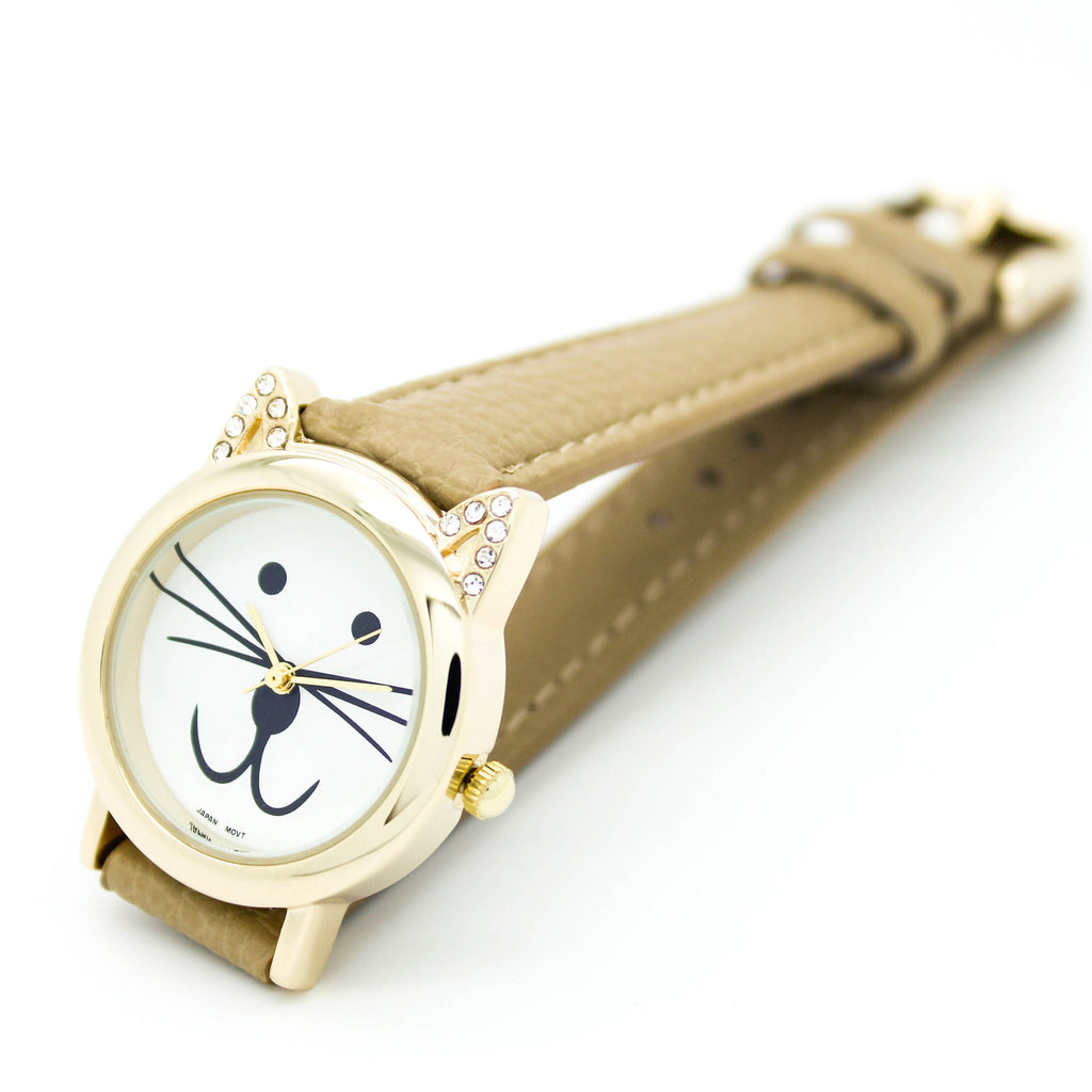 Cat strap watch