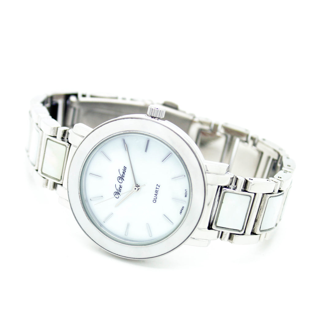 Pearl metal watch (3 colors)