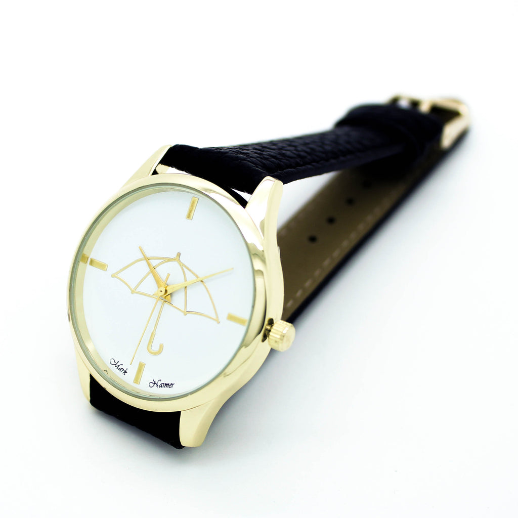 Umbrella strap watch (2 colors)