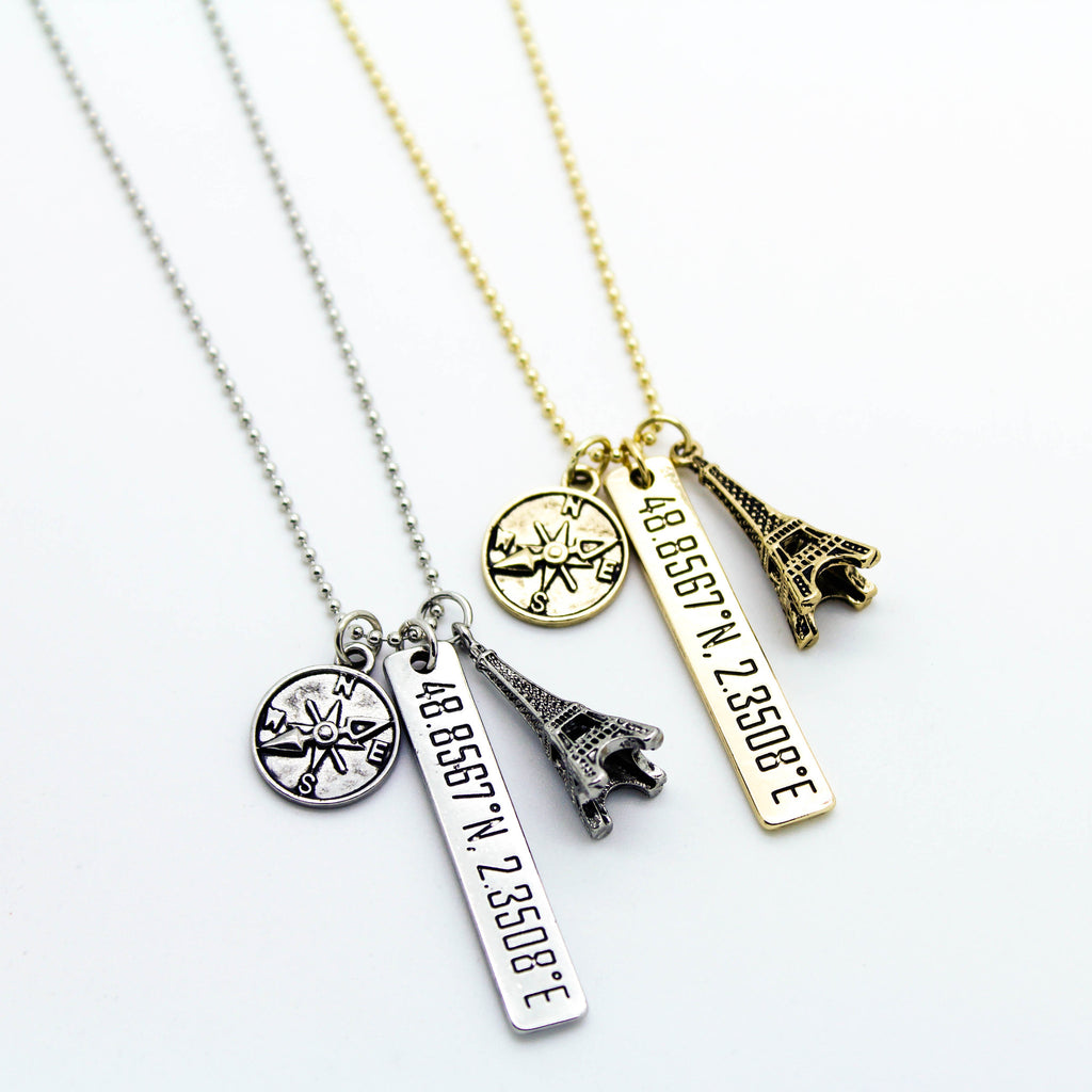 To Paris necklace