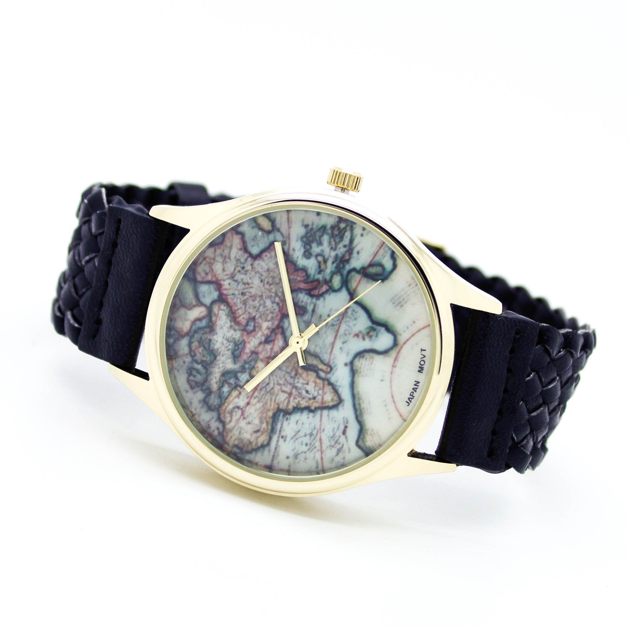 World map watch 5 colors imsmistyle world map watch 5 colors gumiabroncs