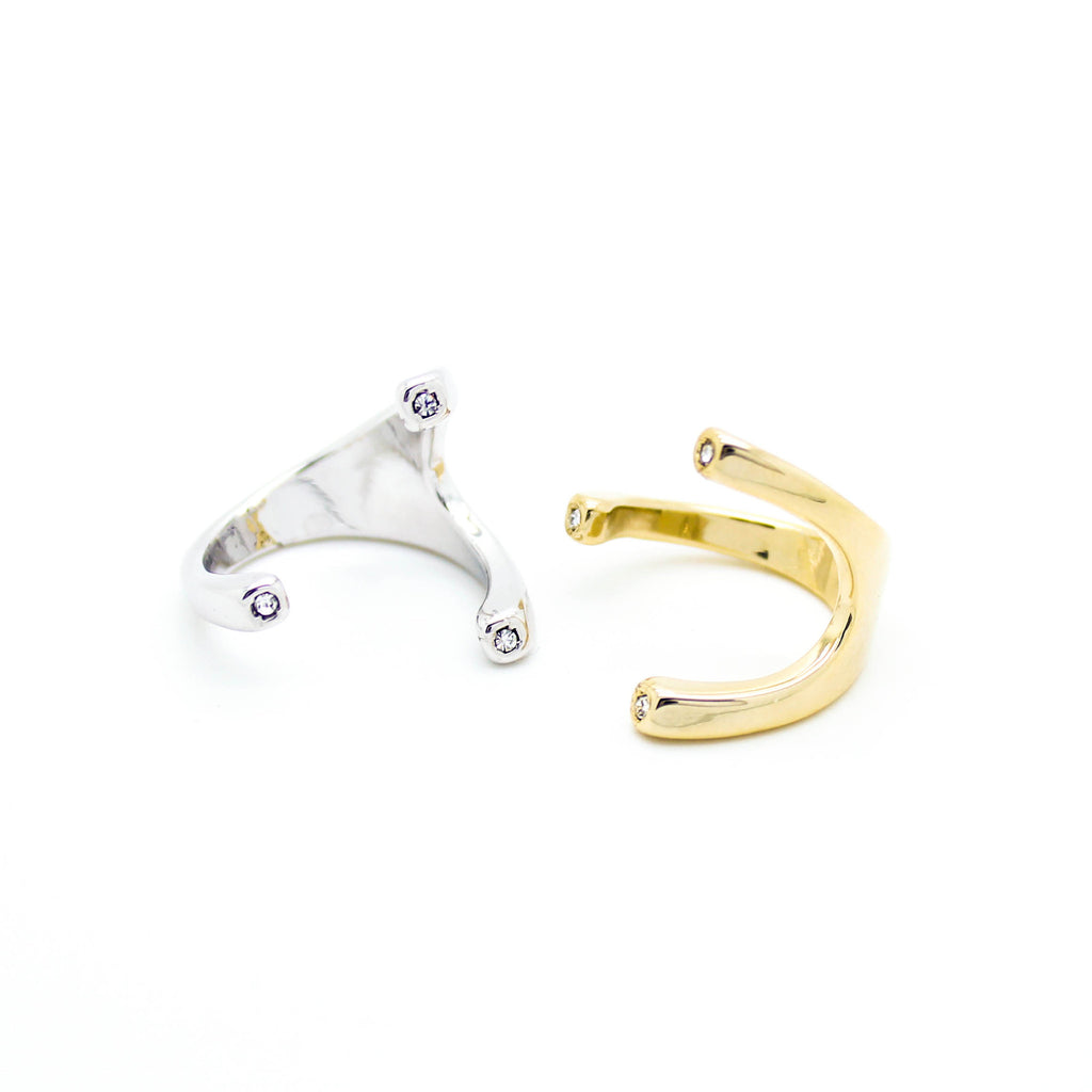 Wish bone ring