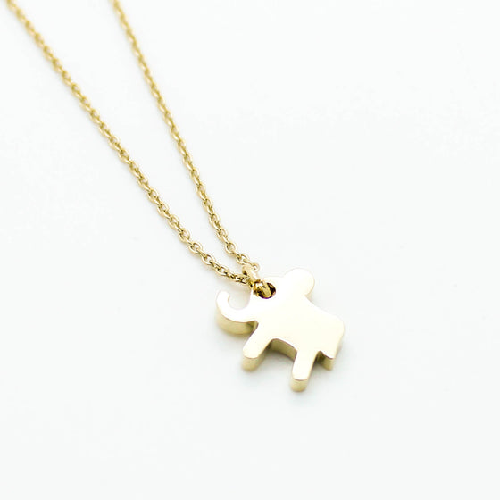 Baby elephant necklace