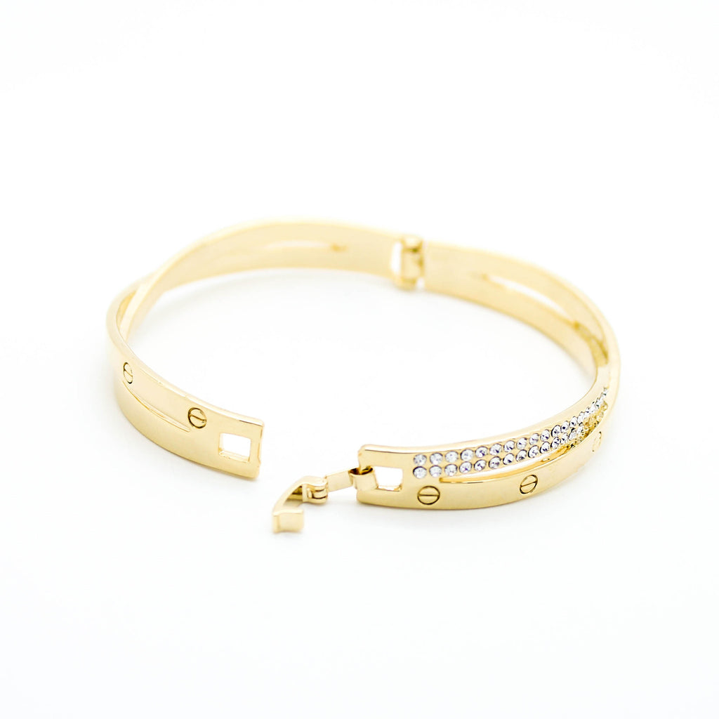 Bella infinity bangle bracelet