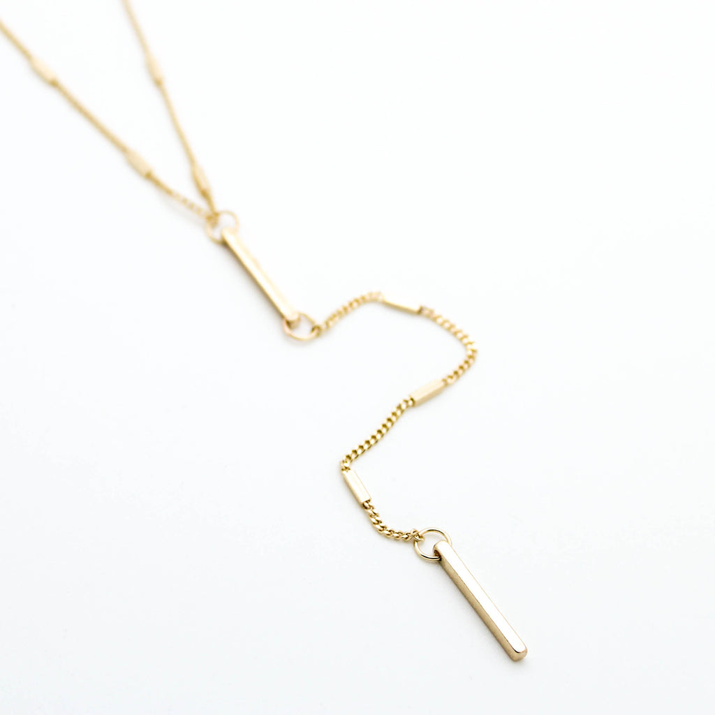 Bar Y necklace