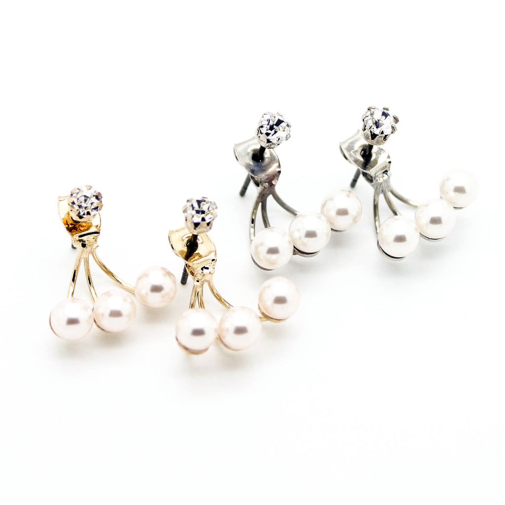 Cutie pearl earrings
