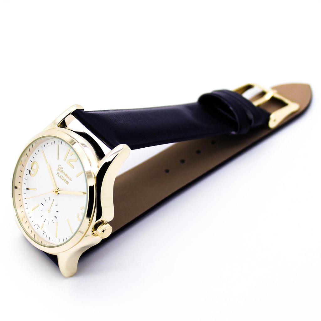 Boston strap watch (3 colors)