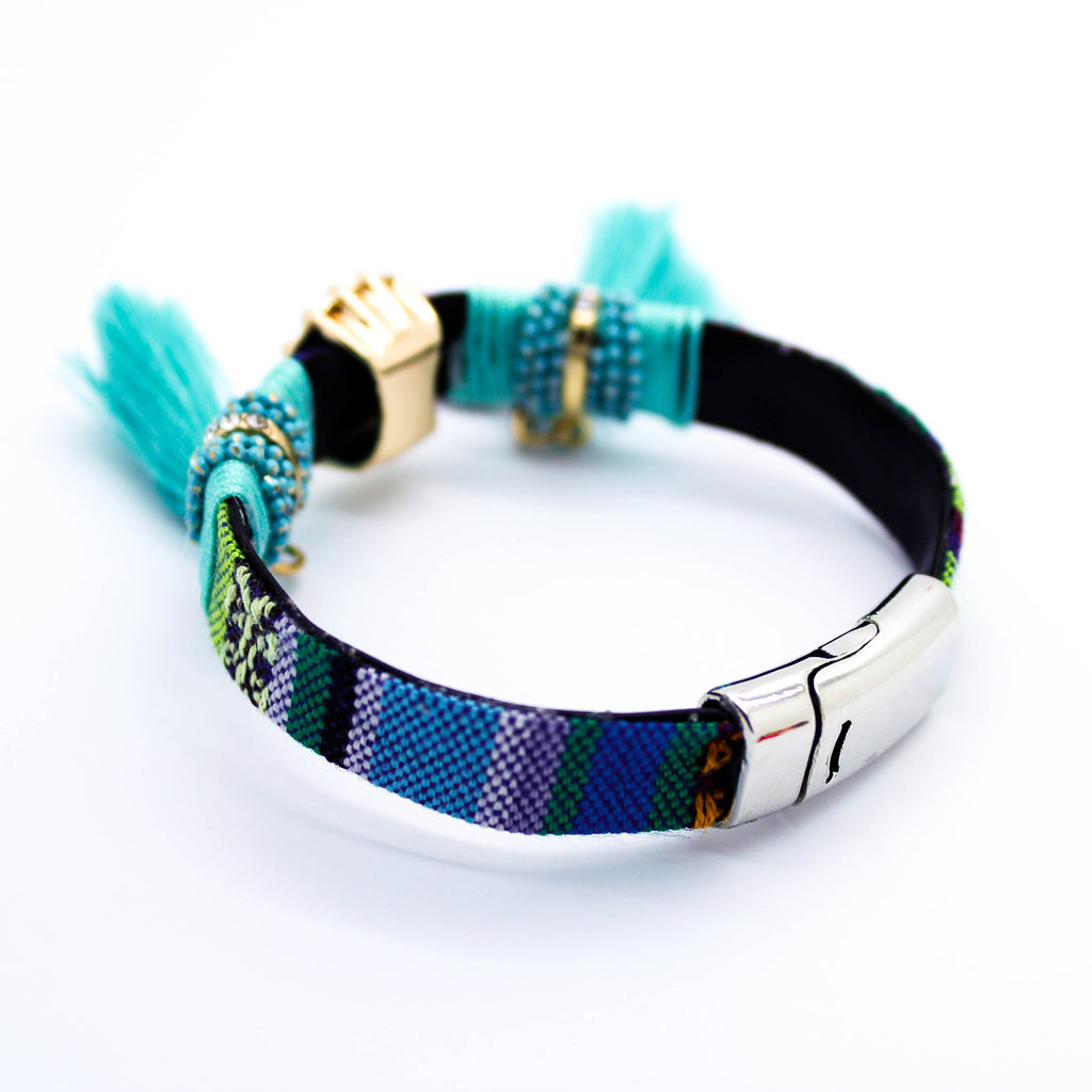 Aztec friendship bracelet