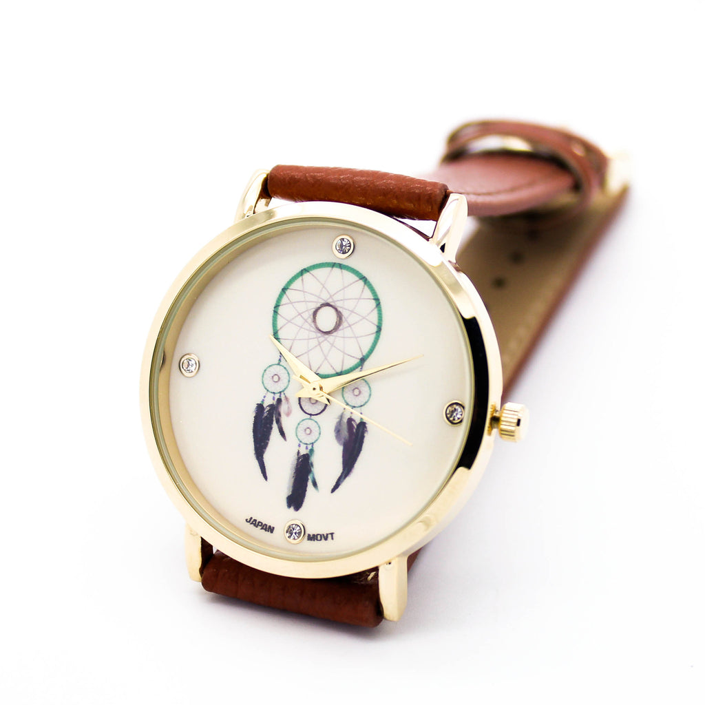 Dreamcatcher strap watch (3 colors)
