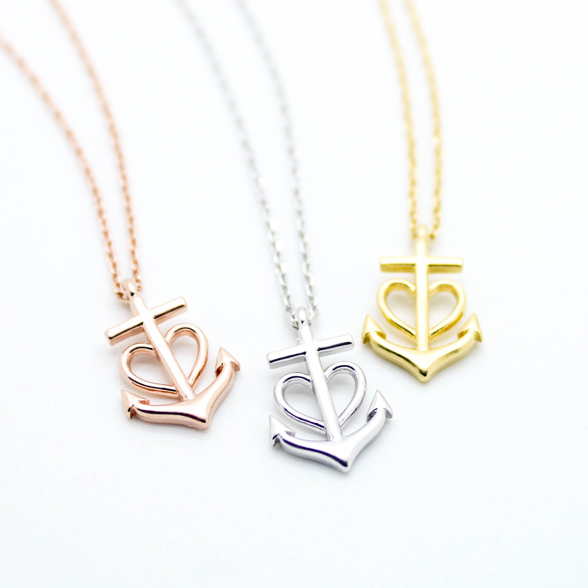necklace mg anchor products imsmistyle heart