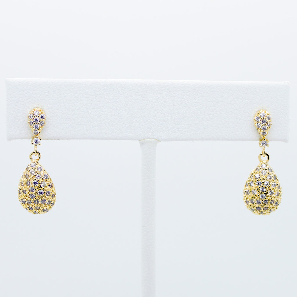 Glam drop earrings