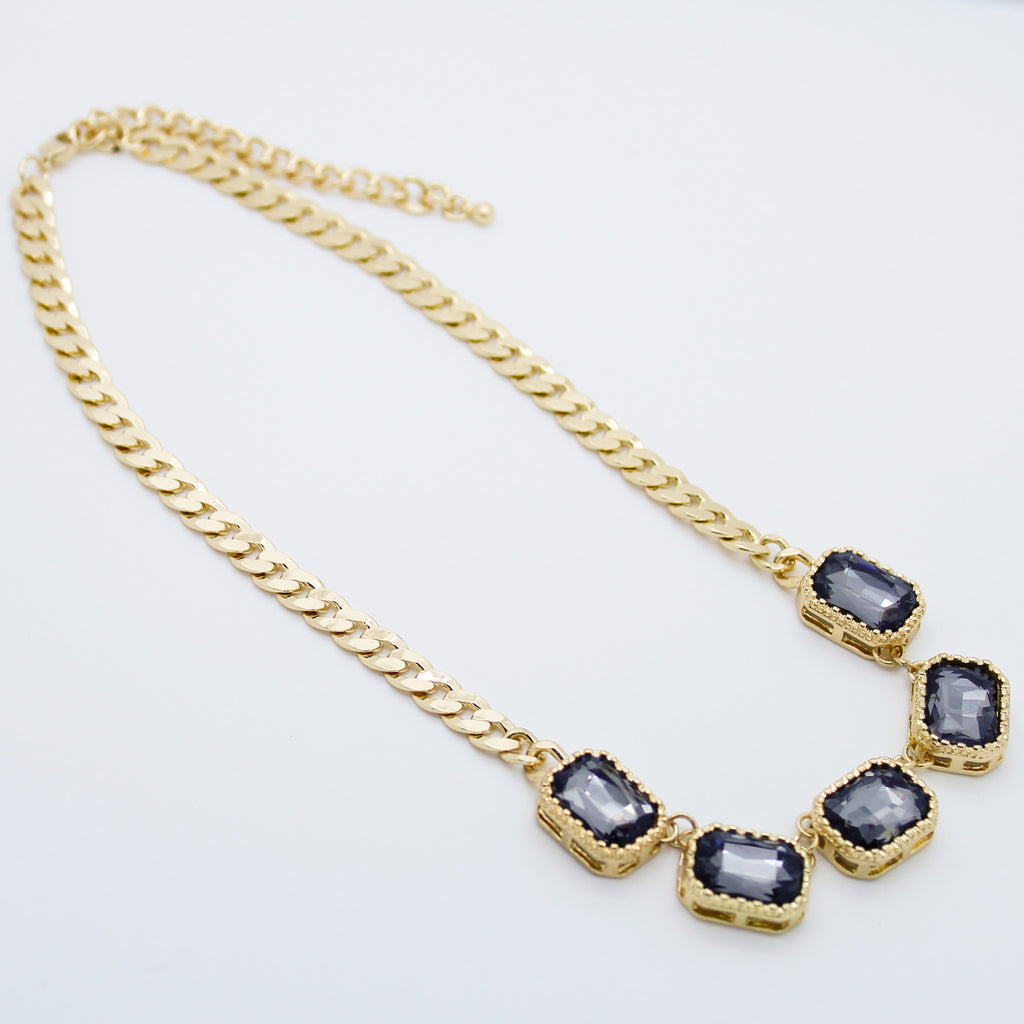 Glam necklace set