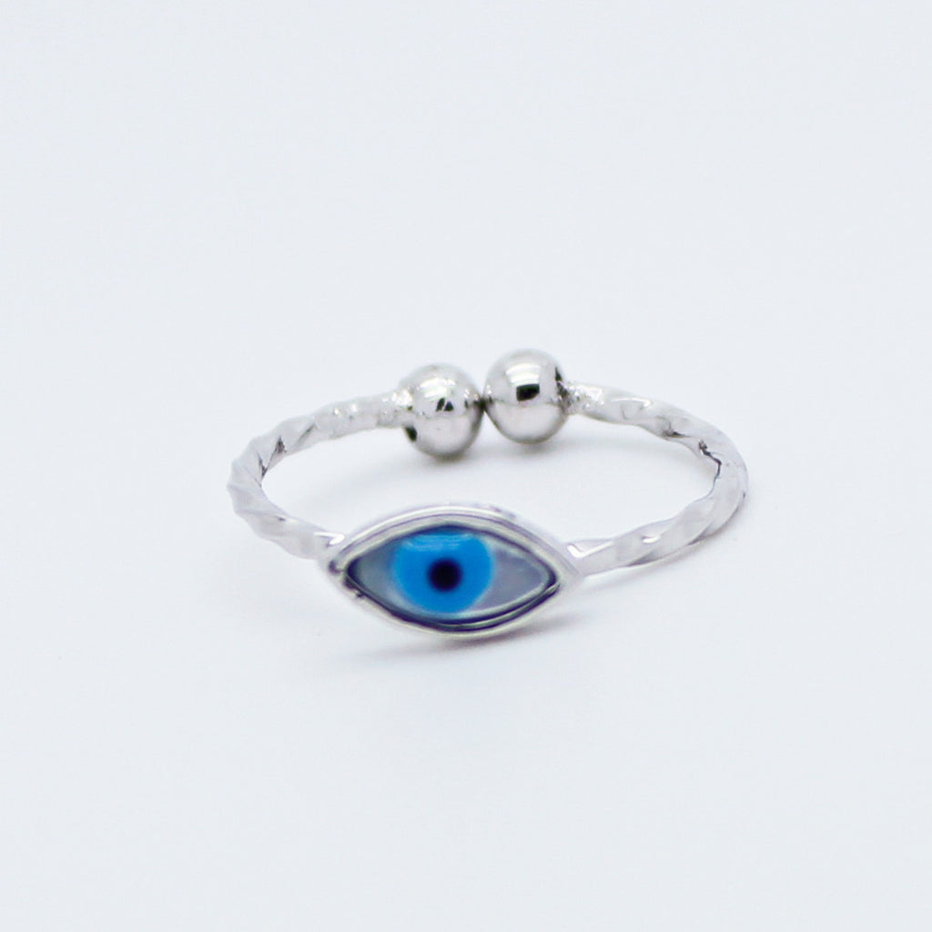 Eye knuckle, midi ring