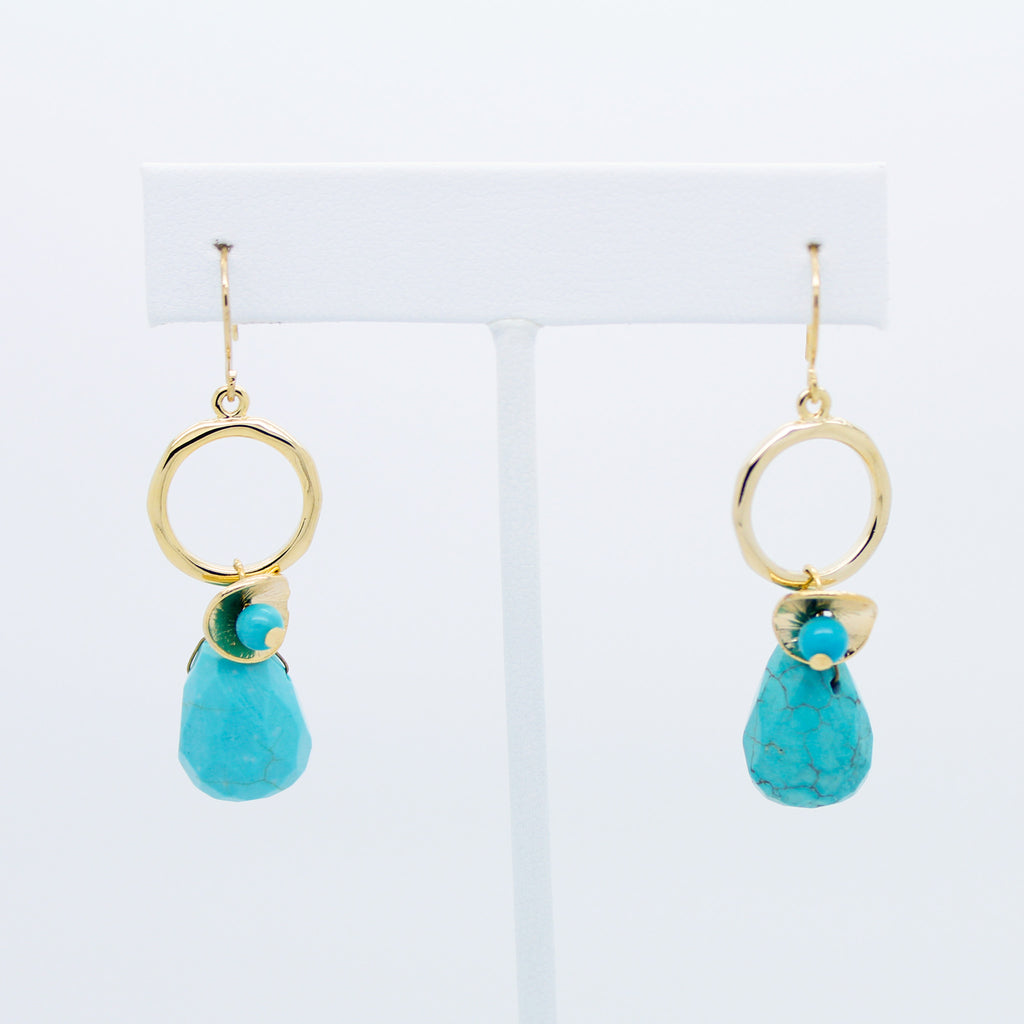 Lovely stone earrings