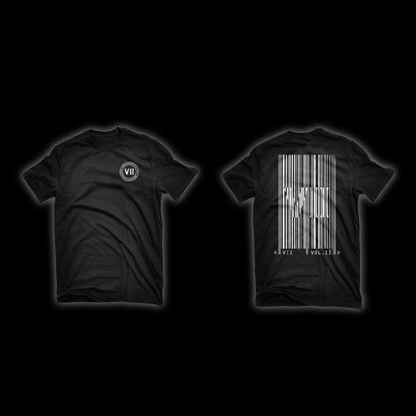 VII Vol II Album Tee (Black)