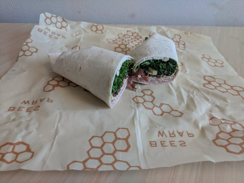 bees wrap wrapping my wrap